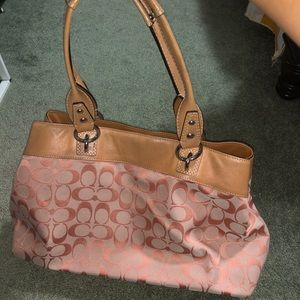 Aunthetic coach bag